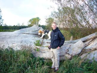 Beagles im Hiller Moor
