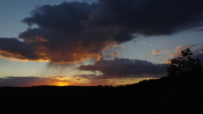 Sonnenuntergang Rosstrappe