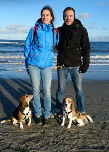 Urlaub mit den Beagles in Boltenhagen