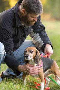 Mark und Beagle Lexy